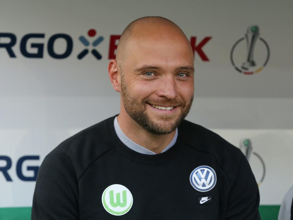 Holte mit Wolfsburg das Double: Trainer Stephan Lerch