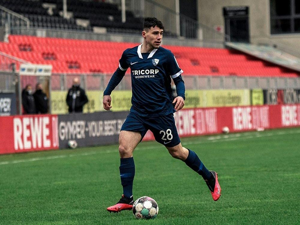 Luis Hartwig erhält Profivertrag beim VfL Bochum