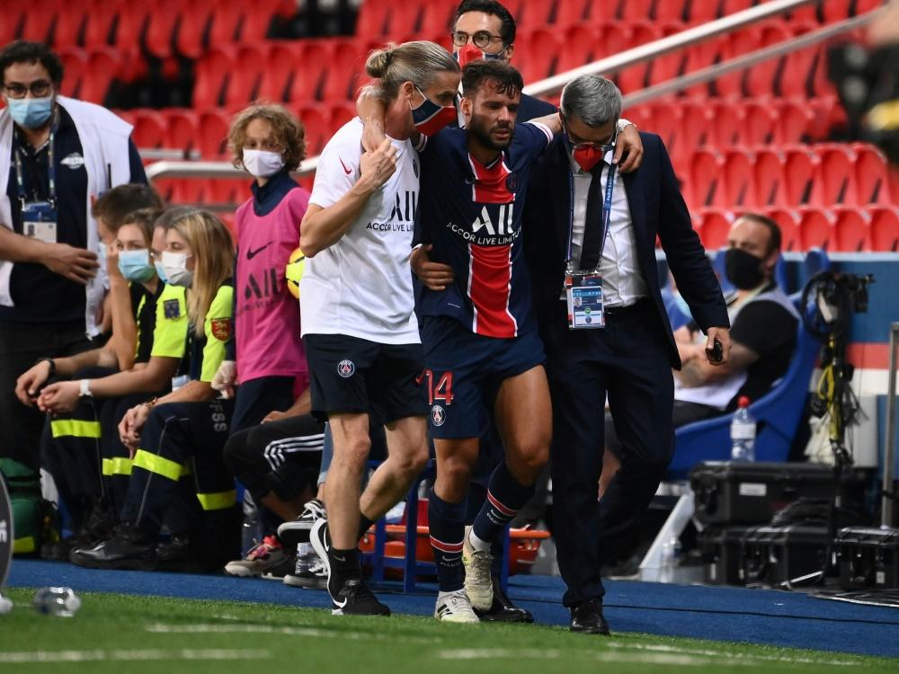 Juan Bernat verletzte sich beim Spiel gegen den FC Metz