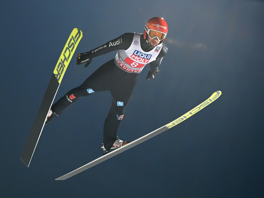 Markus Eisenbichler springt aufs Podest