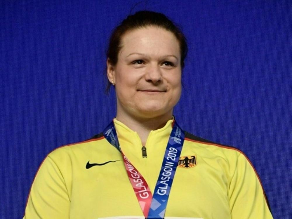 Christina Schwanitz gewann ihren siebten DM-Titel