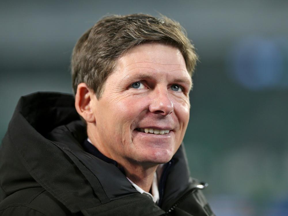 """Oliver Glasner freut sich über den gelungenen Auftritt seiner """"zweiten"""" Elf"""