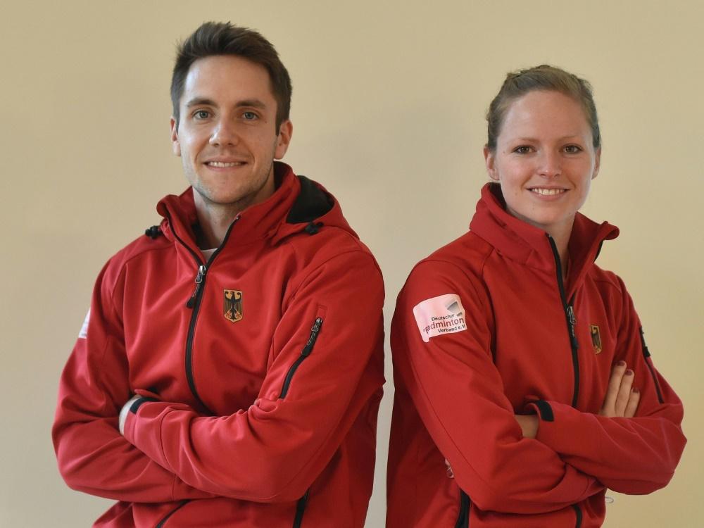 Mark Lamsfuß und Isabel Herttrich starten bei Olympia