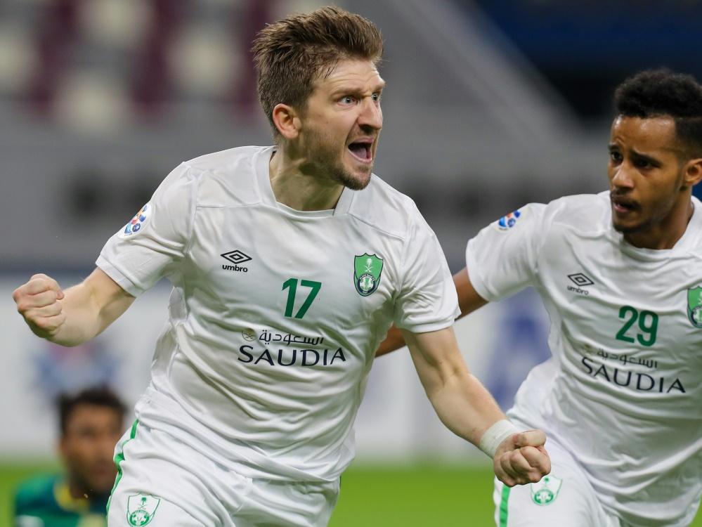 Marko Marin erzielte den 1:0-Siegtreffer für Al-Ahli