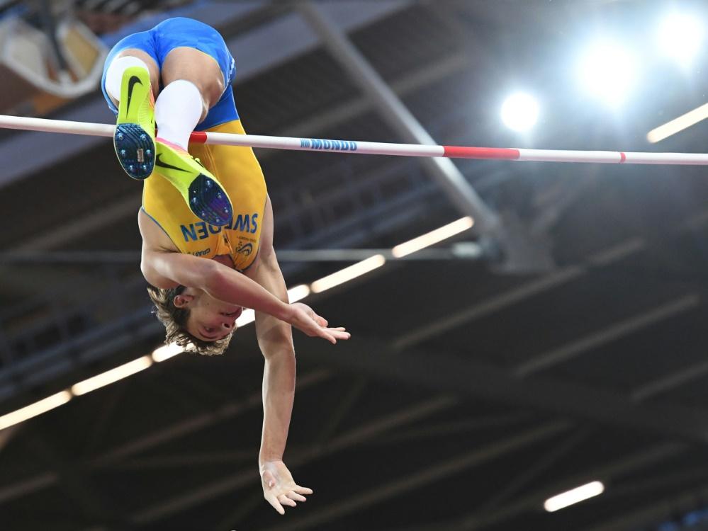 Duplantis überspringt in Düsseldorf 6,00 Meter