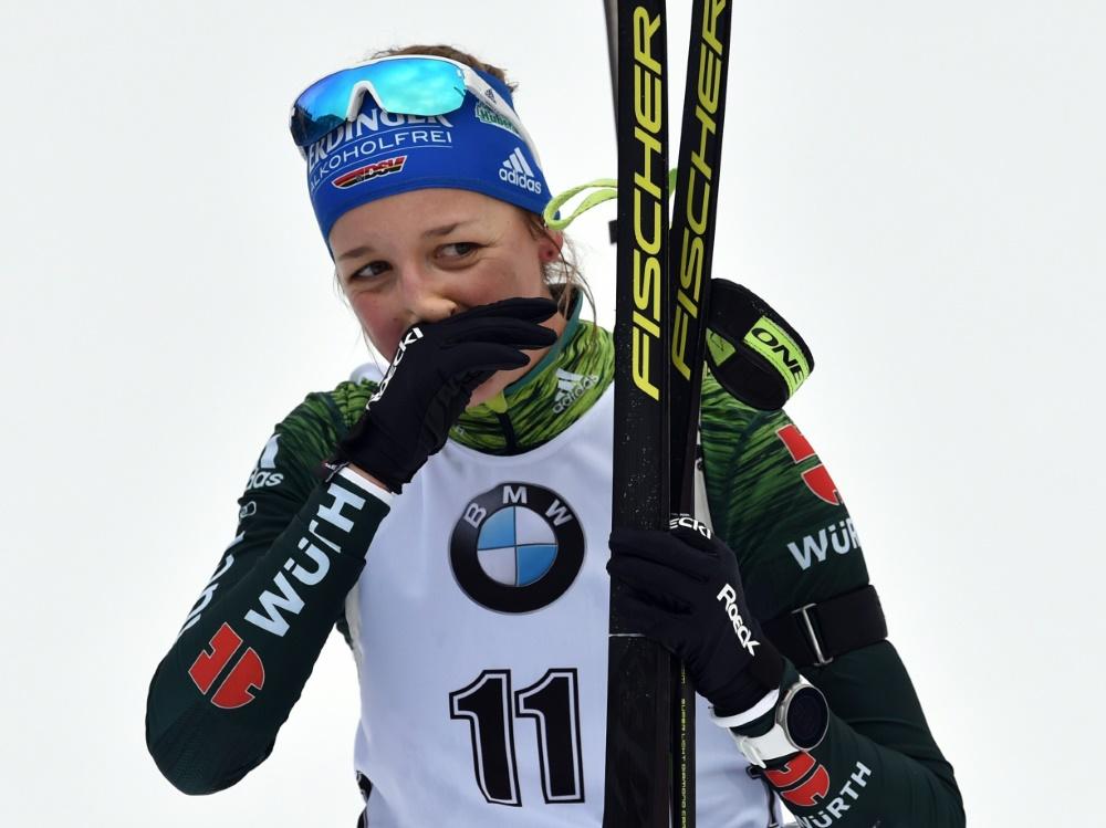 Verpasst das Rennen in Antholz: Franziska Preuß