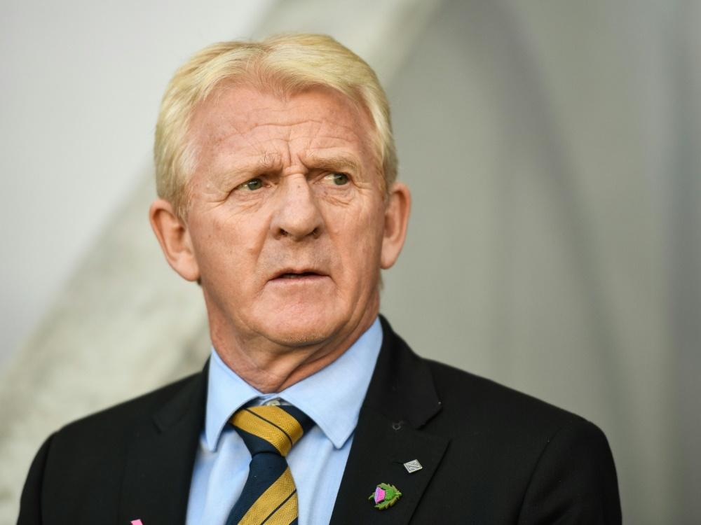 Gordon Strachan verpasste mit Schottland die Quali für die WM
