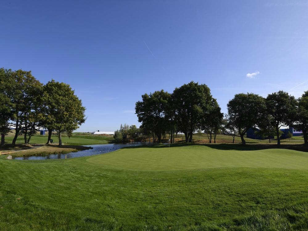 Das Golfturnier wird ohne Zuschauer ausgetragen