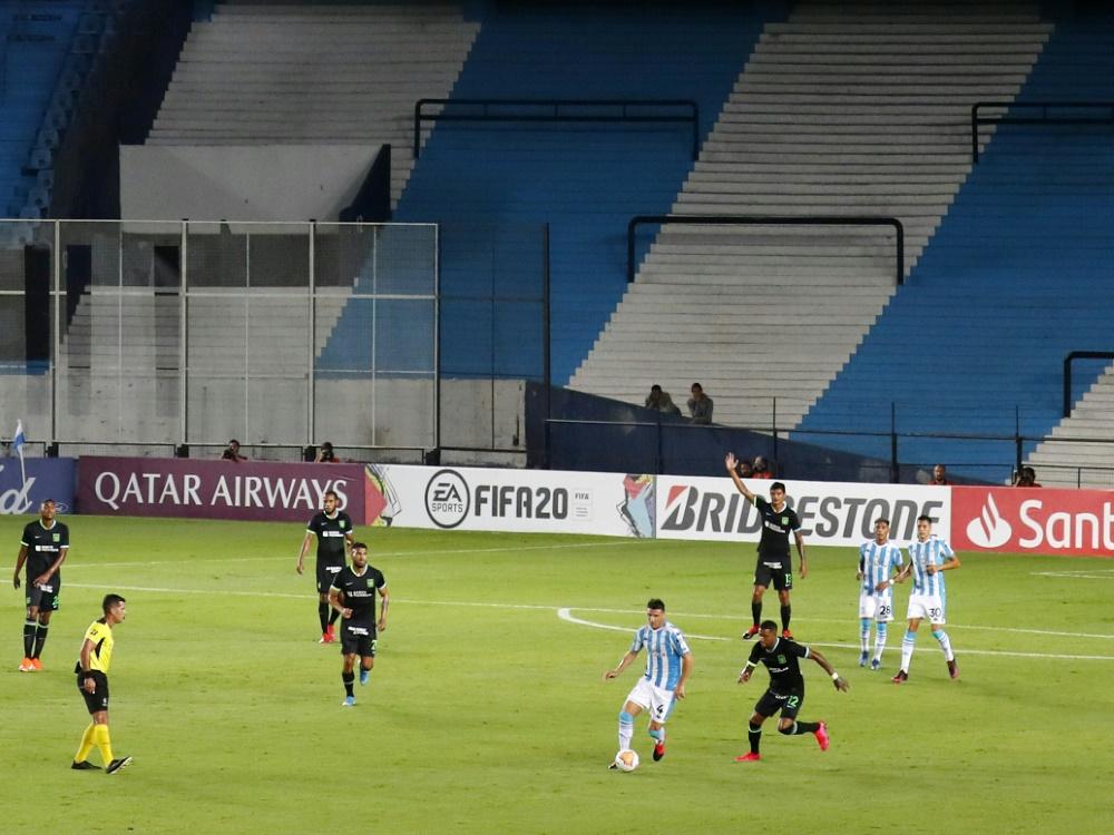 Das letzte Spiel der Copa Libertadores Mitte März