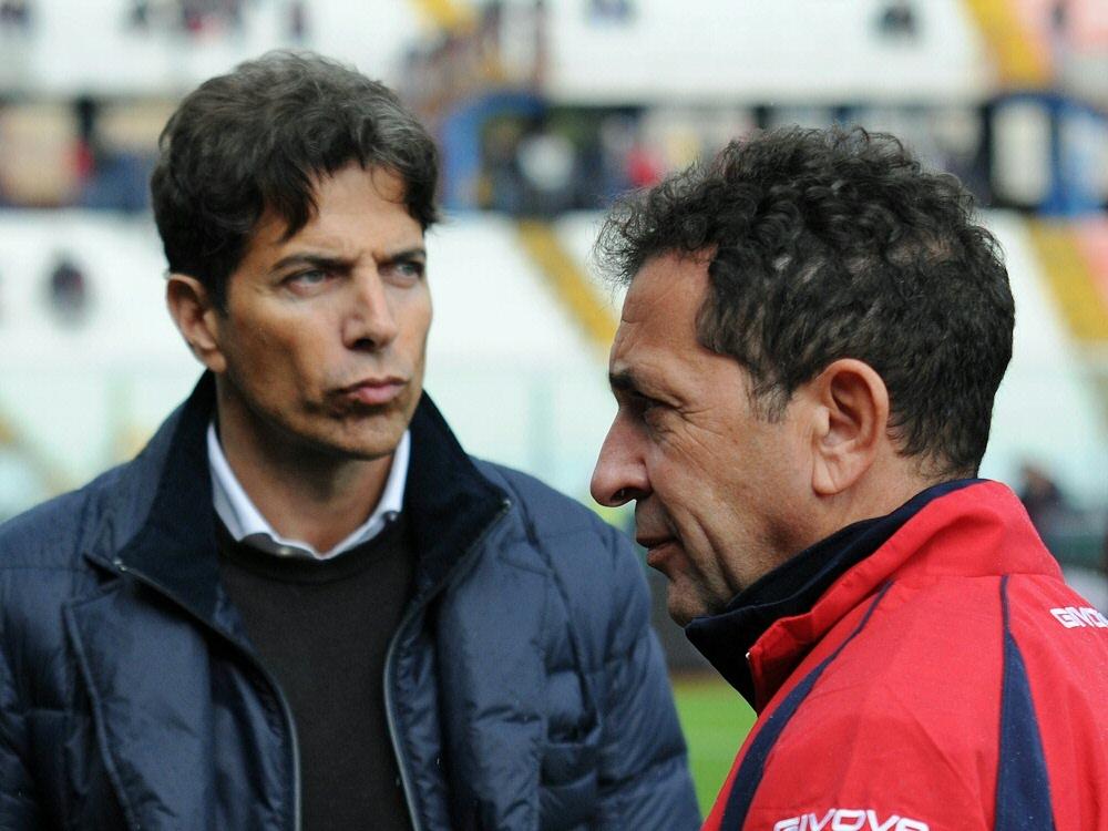 Ex-Klubchef Antonio Pulvirenti (r.) und Pablo Cosentino stehen im Manipulationsskandal im Fokus