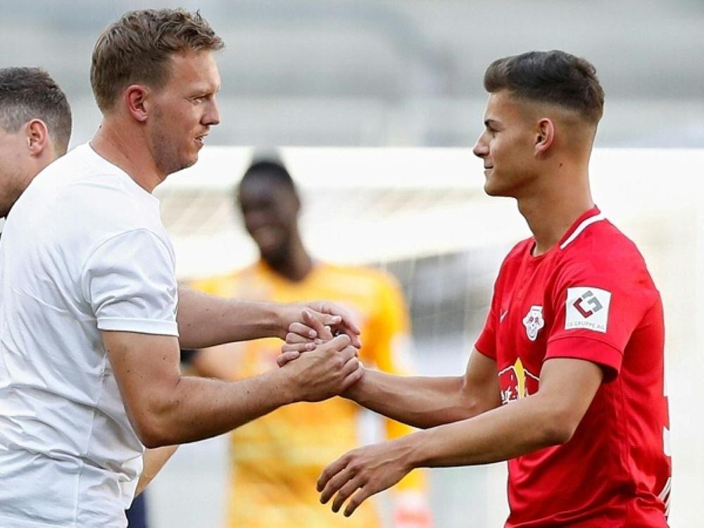Tom Krauß (r.) trägt bald das Trikot des 1. FC Nürnberg