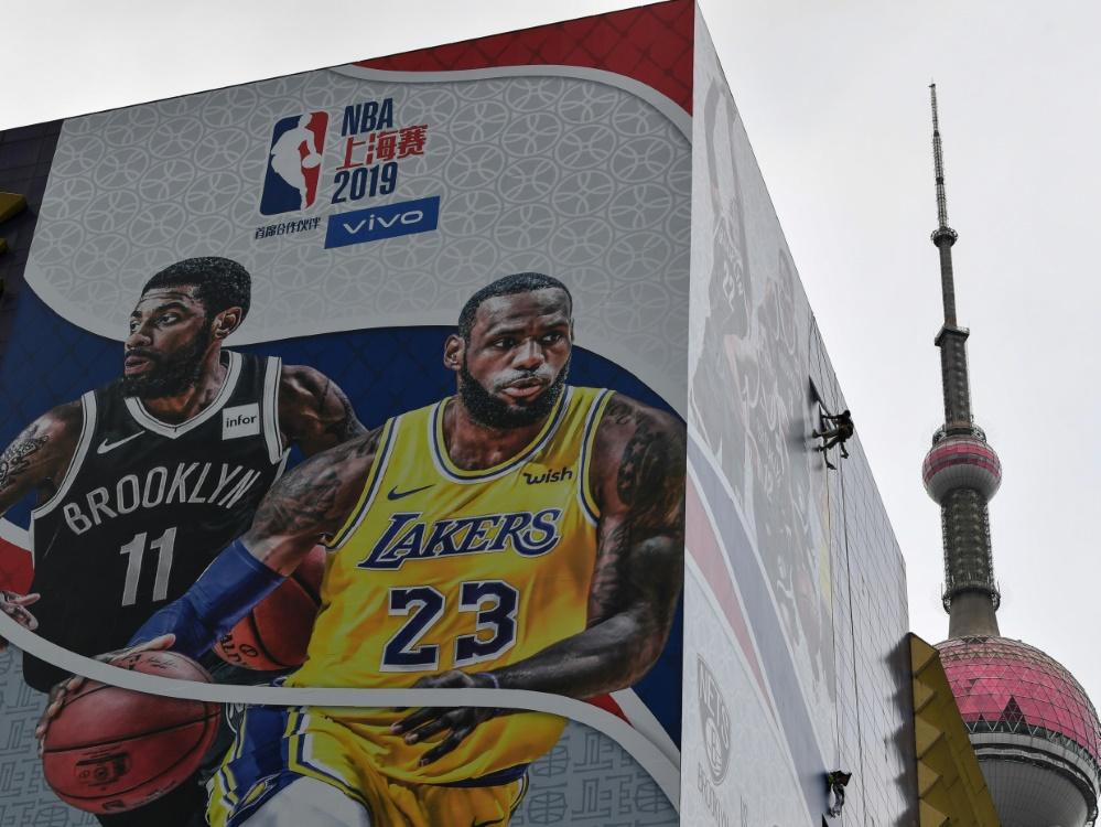 NBA-Werbebanner in China wurden entfernt