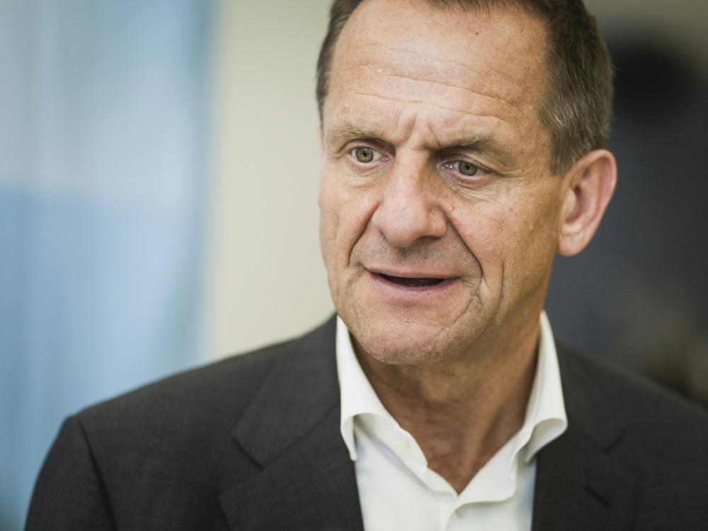 Alfons Hörmann ist besorgt