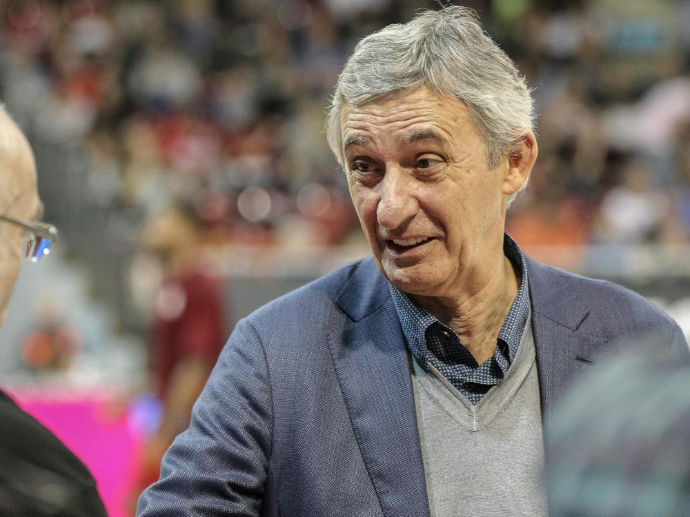 Svetislav Pesic scheiterte mit seinem Team im Halbfinale