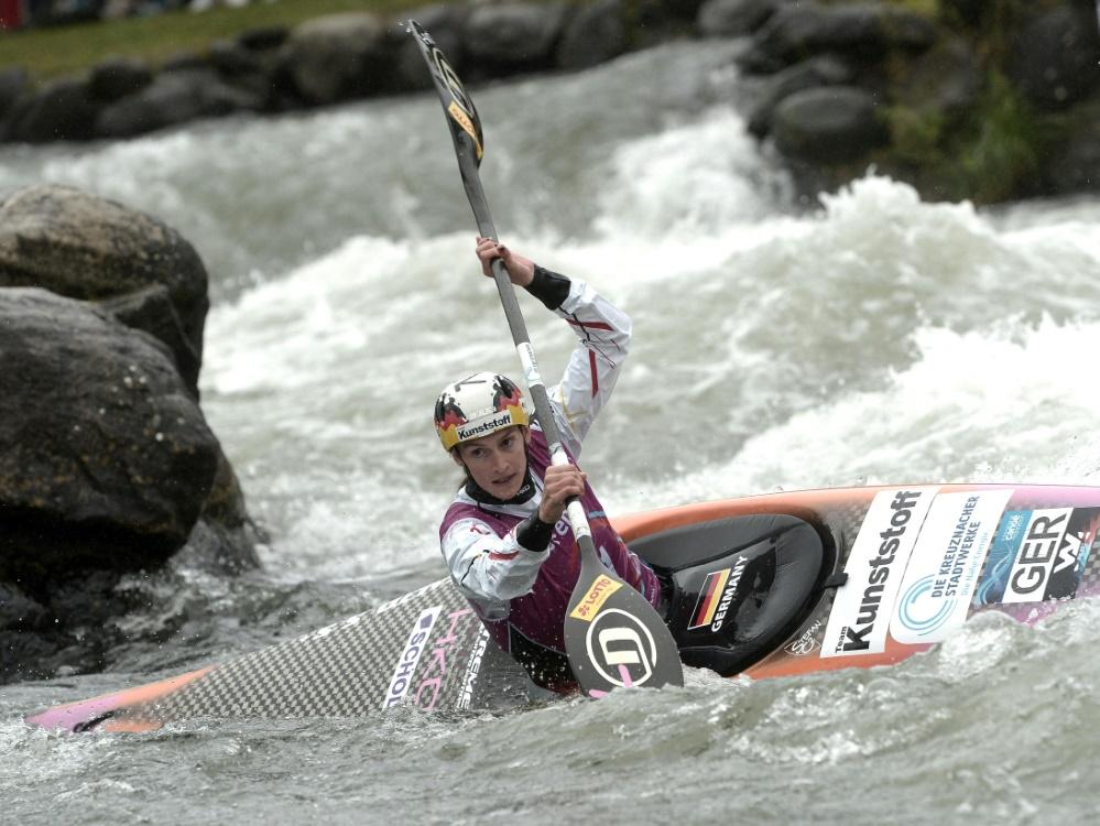 Ricarda Funk wird Zweite beim Weltcup in Markkleeberg