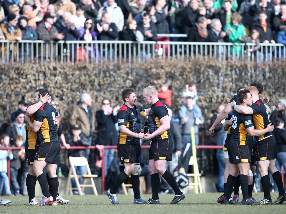 Die Schwarzen Adler: Das Nationalteam im 15er-Rugby