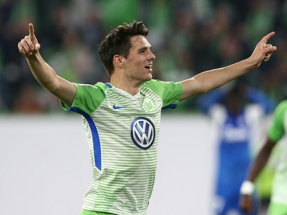 Josip Brekalo erzielt das 2:0 für den VfL Wolfsburg