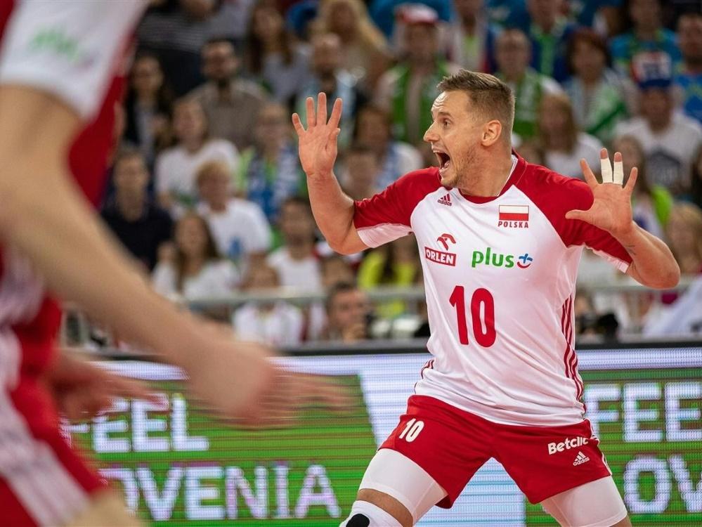 Volleyball-EM: Polen unterliegt Slowenien mit 1:3