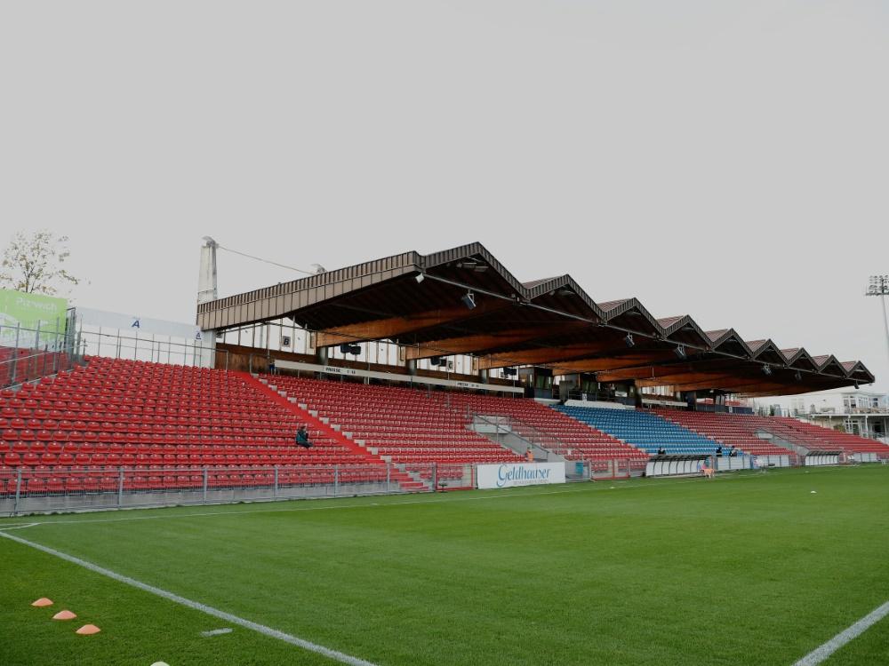 Bei Unterhaching gegen 1860 bleibt das Stadion leer