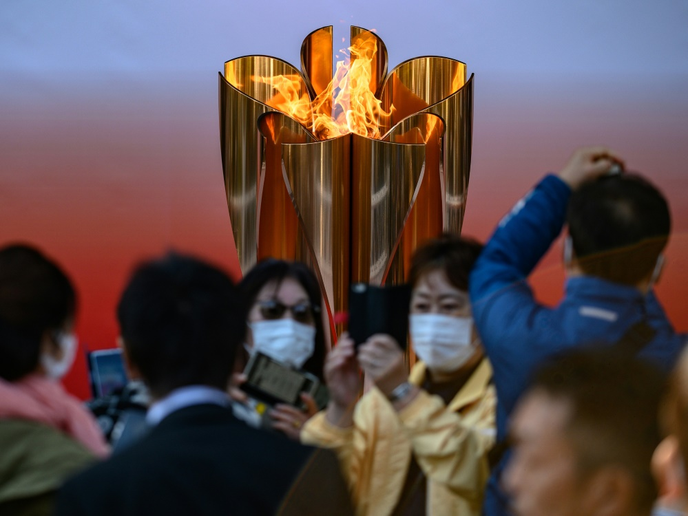 Die Ausstellung des Olympischen Feuers wurde beendet