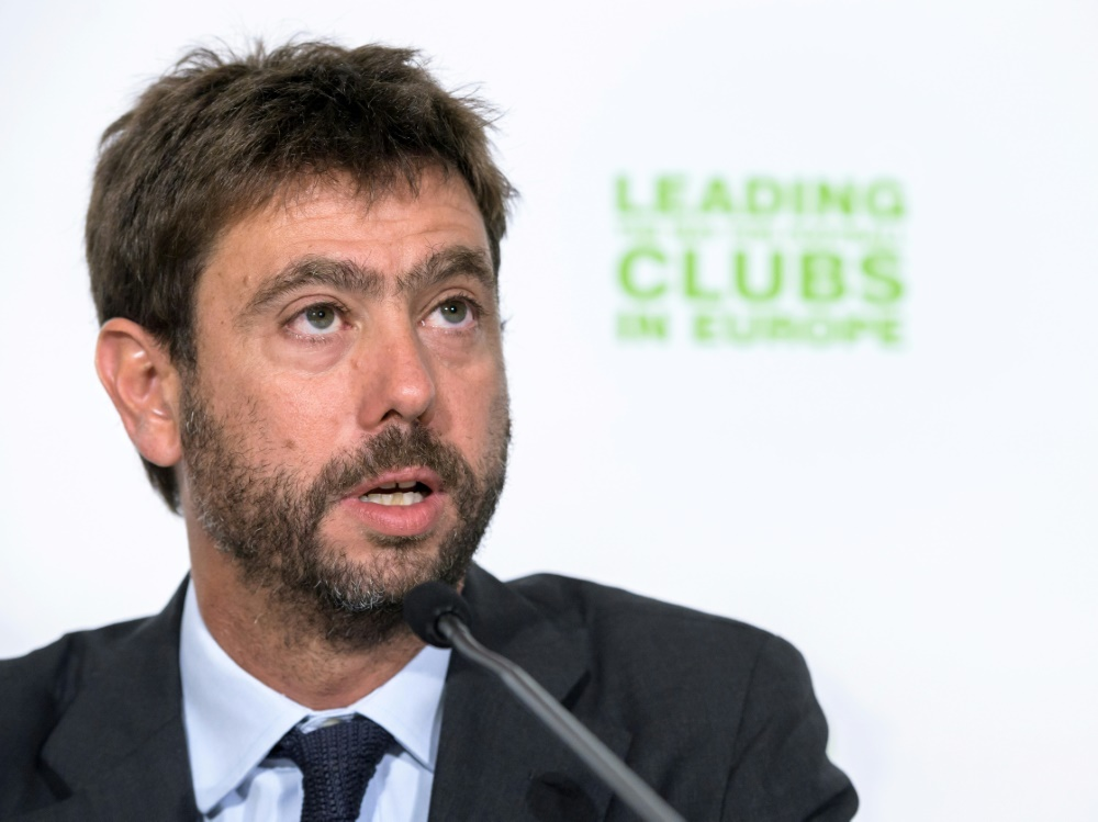 Italienischer Verband sperrt Juve-Boss Andrea Agnelli