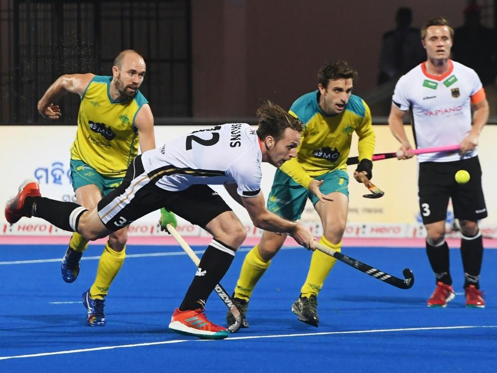 Die deutschen Hockey-Männer erreichten Platz 4
