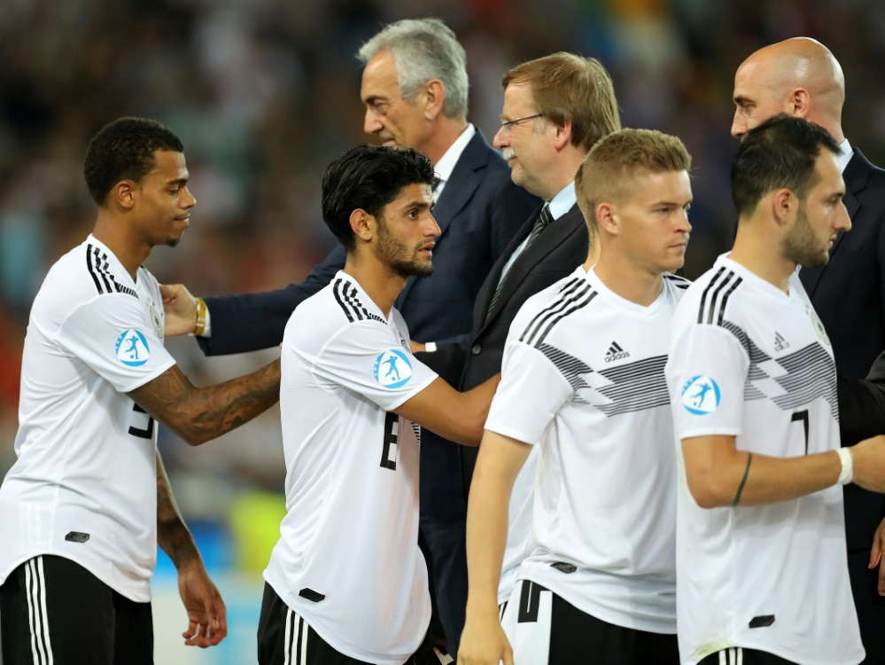 In Belgien trifft Deutschland auf den Tabellenführer