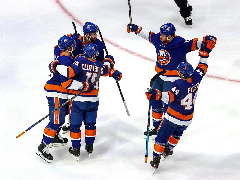 Die Islanders durften in Spiel drei jubeln