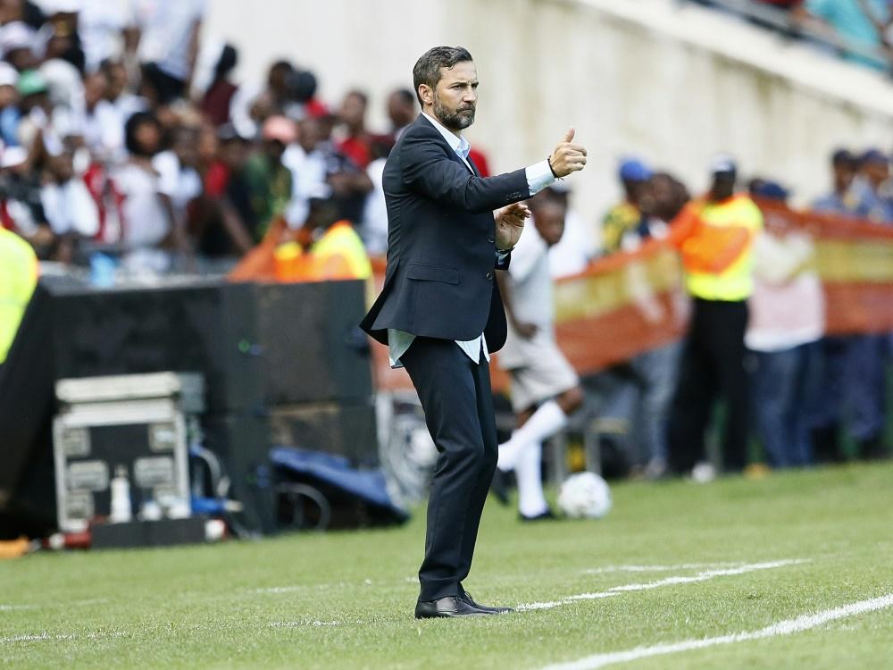 Joe Zinnbauer gewinnt südafrikanischen Fußball-Ligapokal