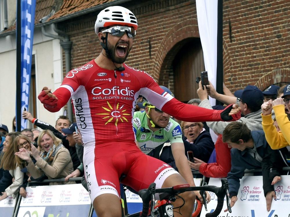 Nacer Bouhanni gewinnt die sechste Etappe der Vuelta