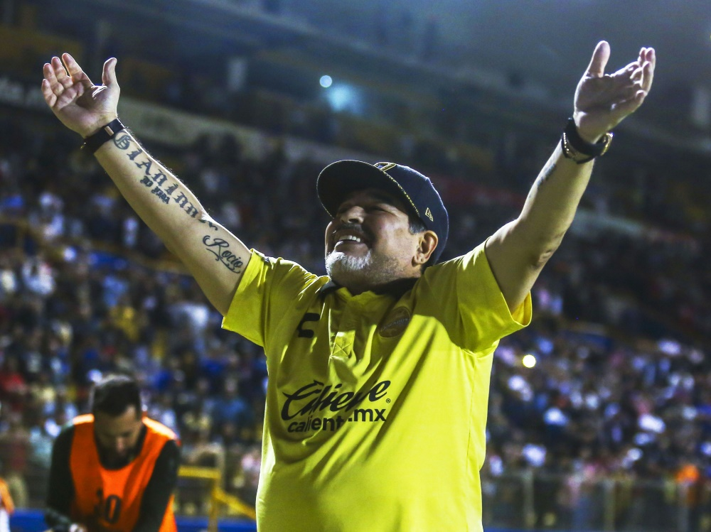 Diego Maradona ist jetzt