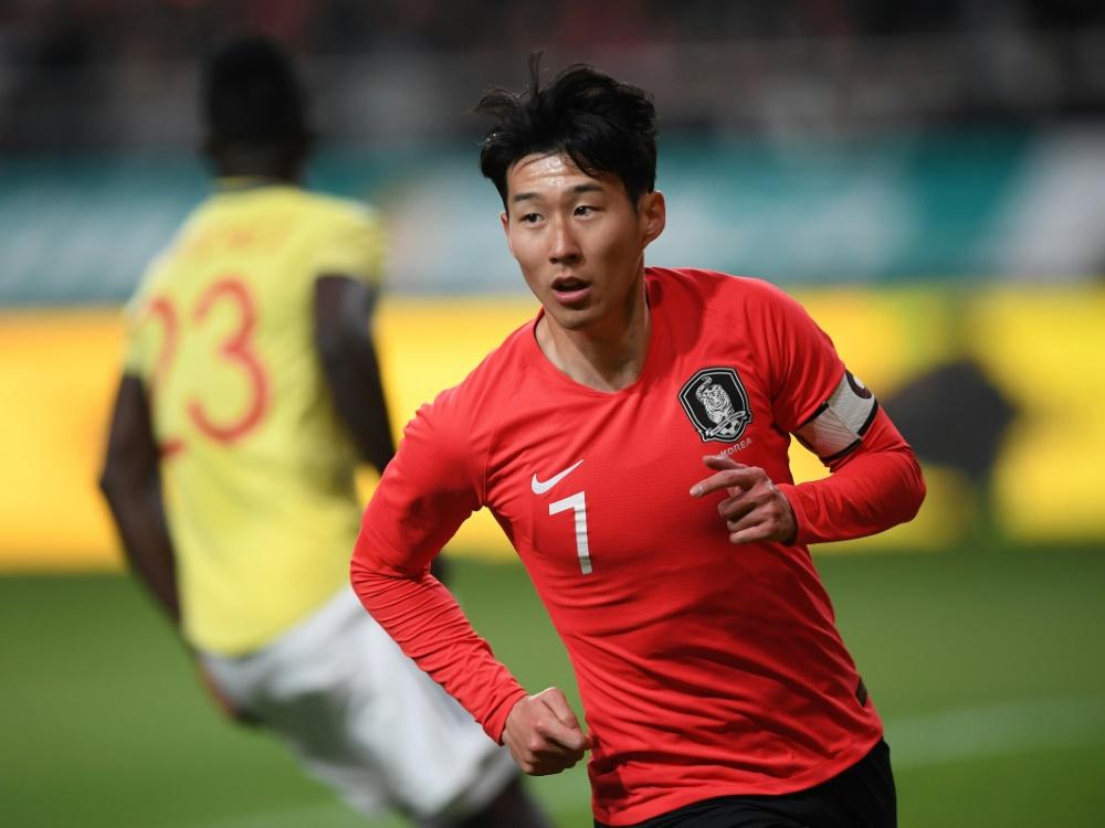Son trifft mit Südkorea in der WM-Quali auf Nordkorea
