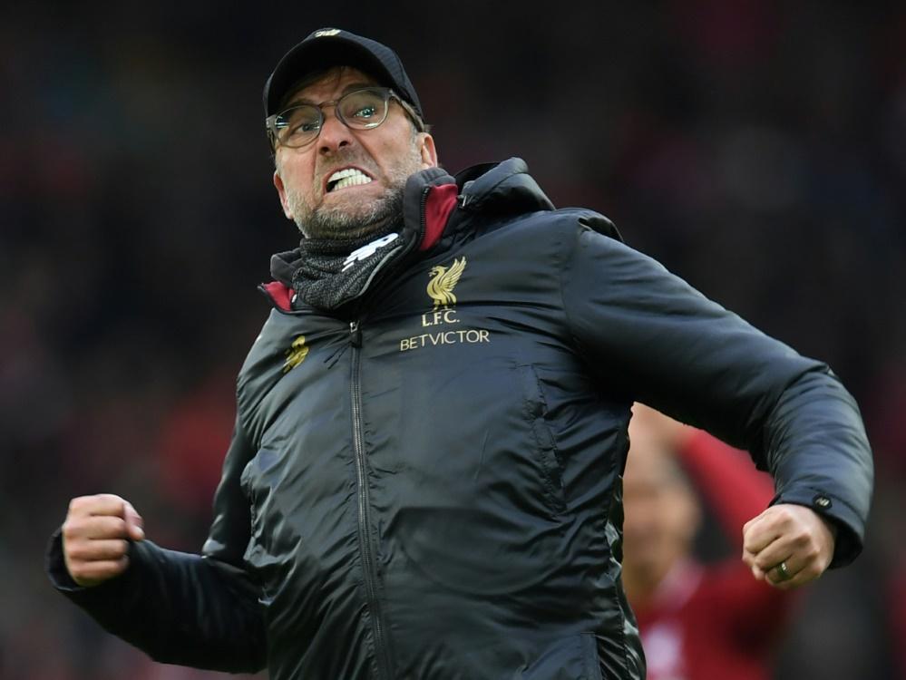 Klopp glaubt an Fortsetzung der Premier League