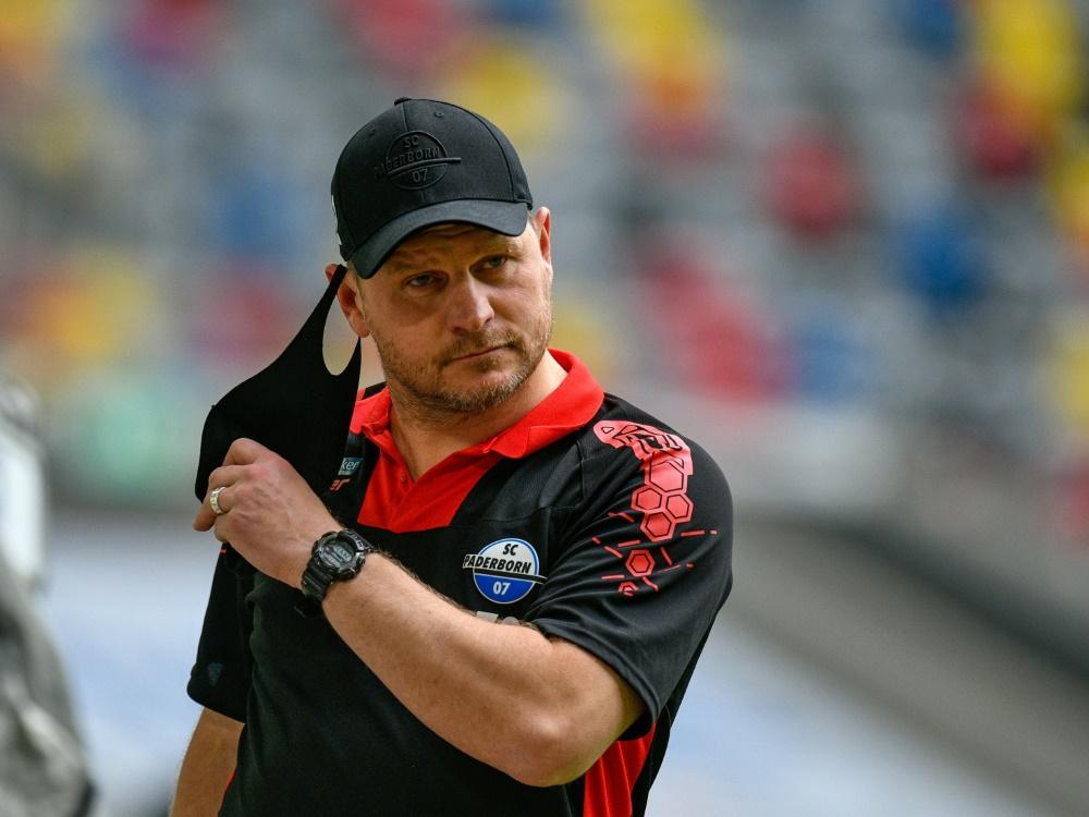 Baumgart gibt sich vor dem Hoffenheim-Spiel kämpferisch