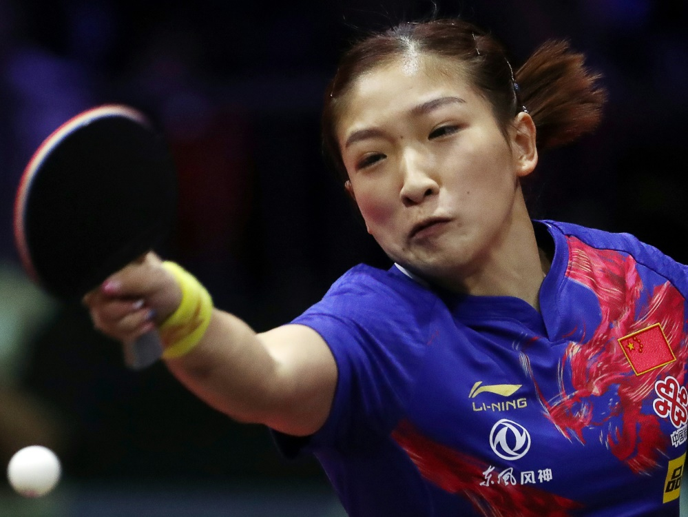 Einzel-Weltmeisterin: Liu Shiwen aus China