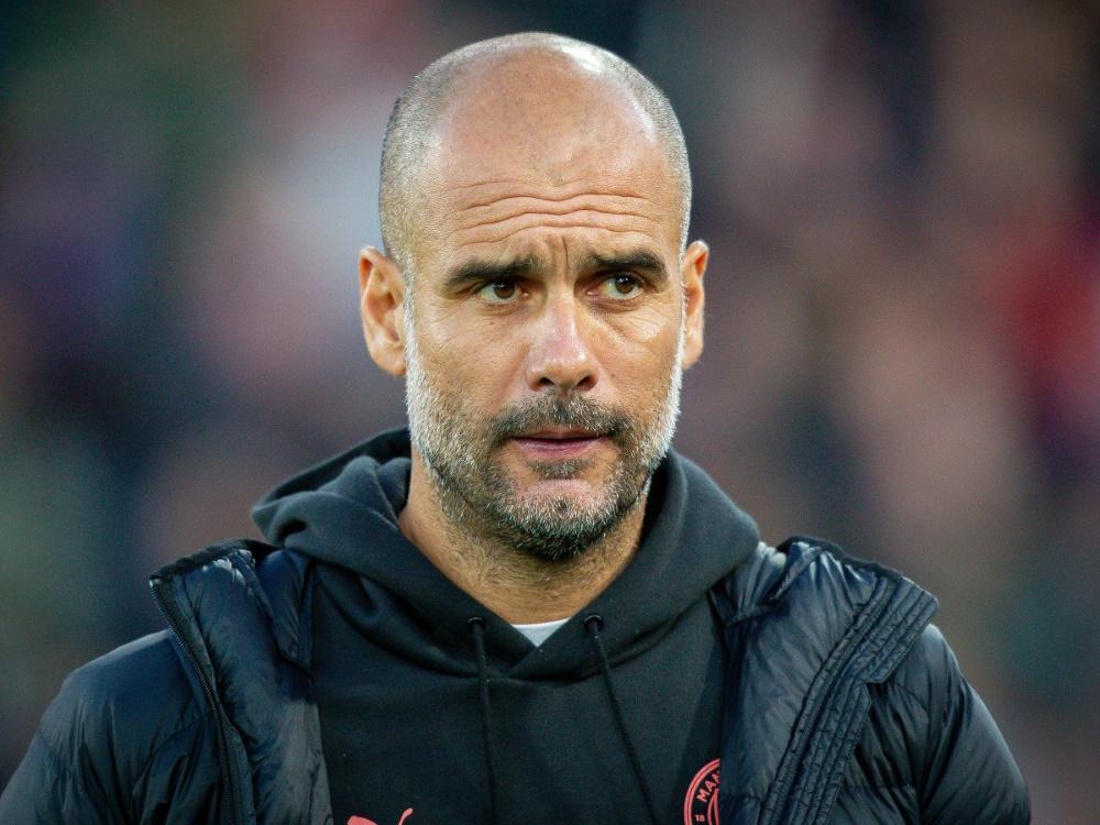 Guardiola plädiert für gemeinsamen Kampf gegen Rassismus