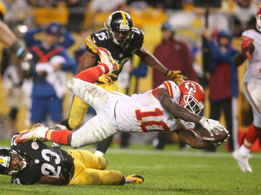 NFL-Star Tyreek Hill wurde suspendiert