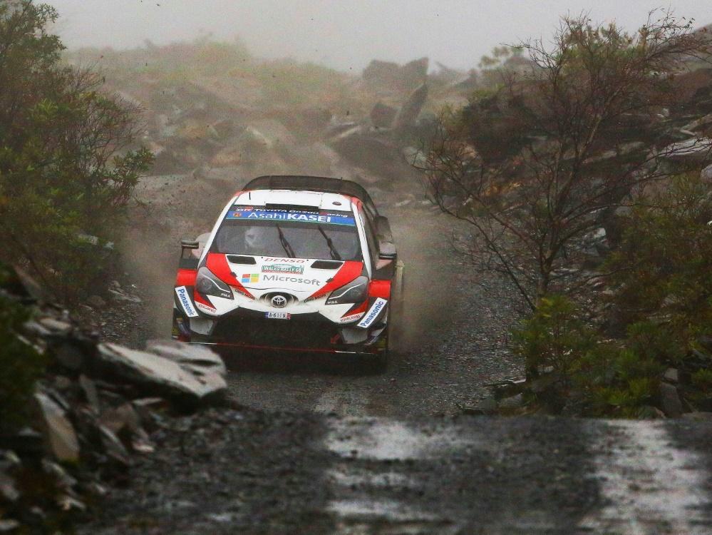 Rallye Wales: Ott Tänak übernimmt die Führung
