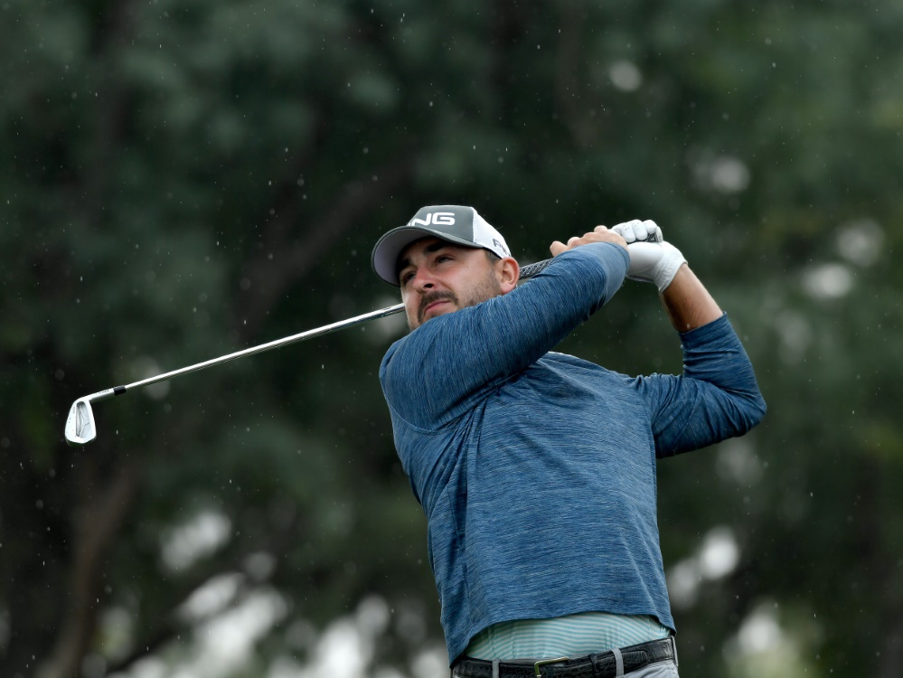 Auf Platz zehn vorgerückt: Golfprofi Stephan Jäger