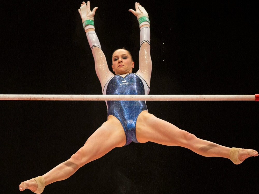 Sophie Scheder ist erstmals Mehrkampf-Meisterin