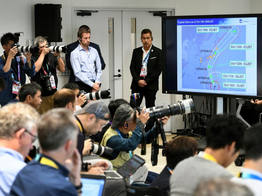 Taifun Hagibis sorgt für Spielabsagen bei der Rugby-WM