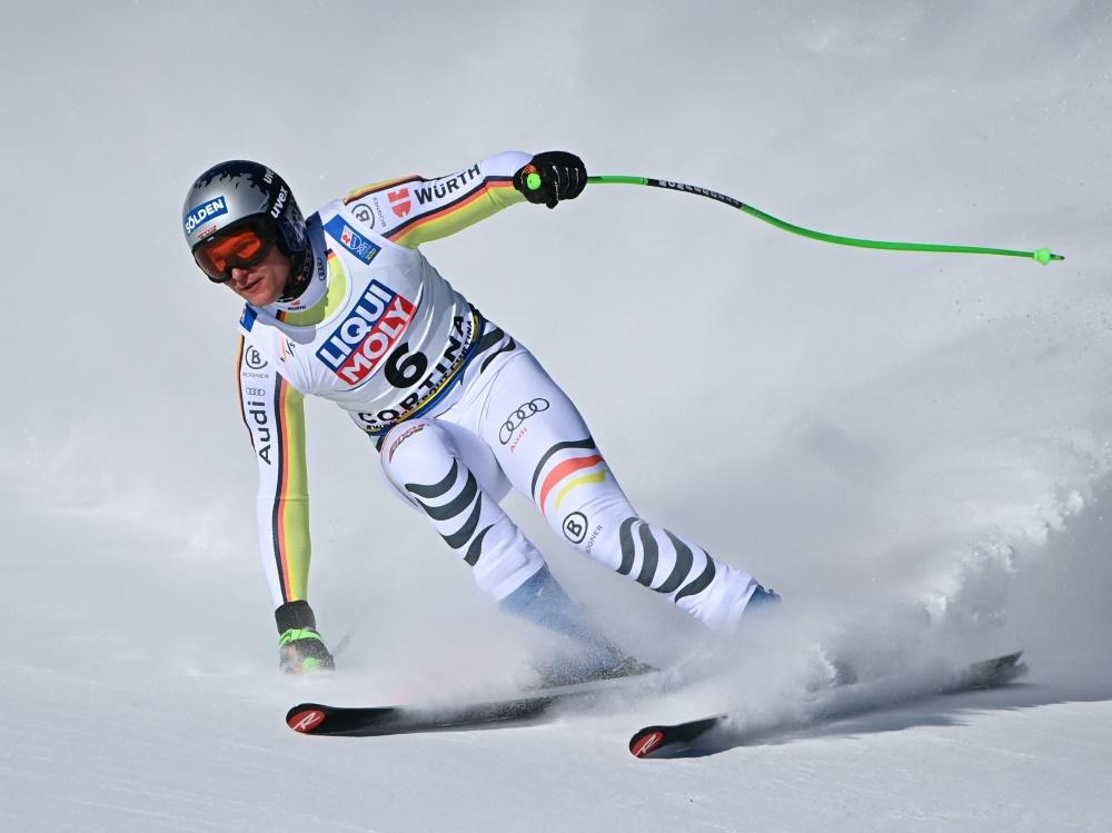 Thomas Dreßen wurde Ende Februar am Knie operiert