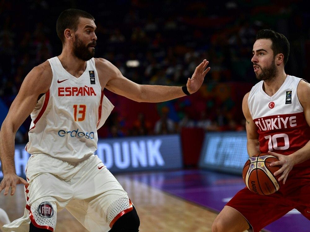 Turkei Spanien Basketball