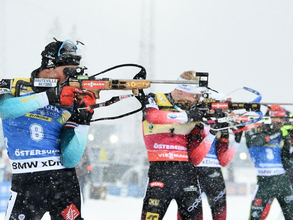 In Östersund starten Samstag die Biathleten in die Saison
