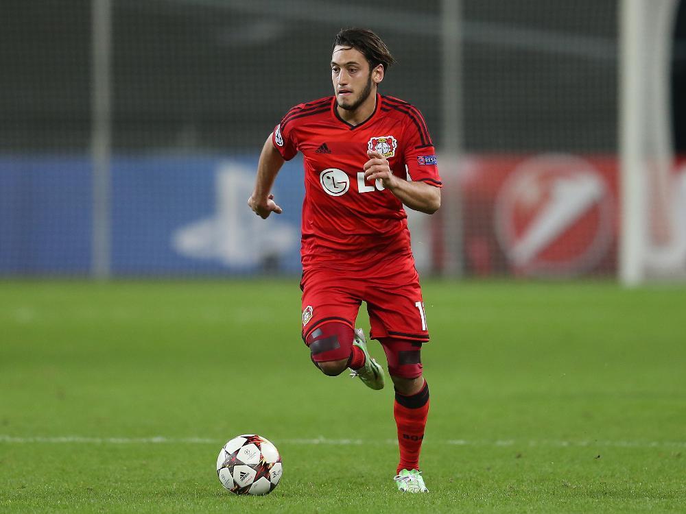 Calhanoglu ist einer der nominierten Bundesligaprofis