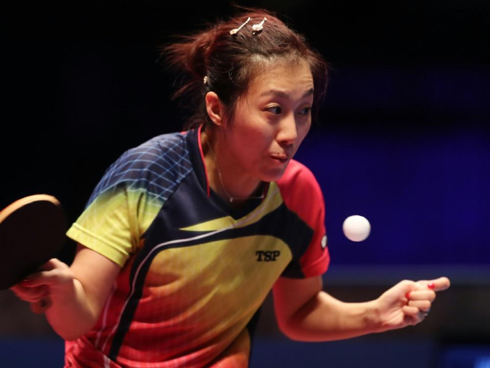 Deutschlands Tischtennis-Frauen stehen im Halbfinale