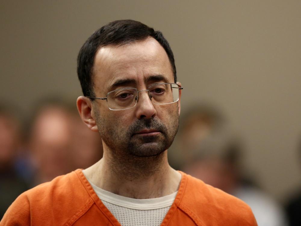Lange Haftstrafe für den Ex-Arzt der US-Turner Nassar