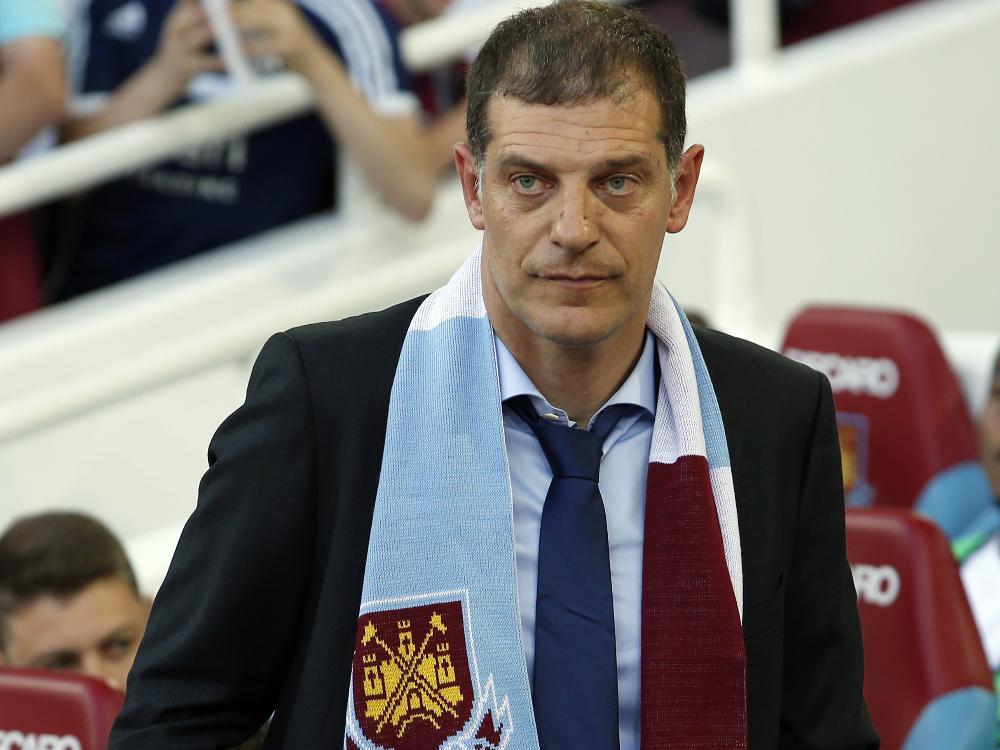 Slaven Bilić sorgte bei seinem Debut für einen Eklat