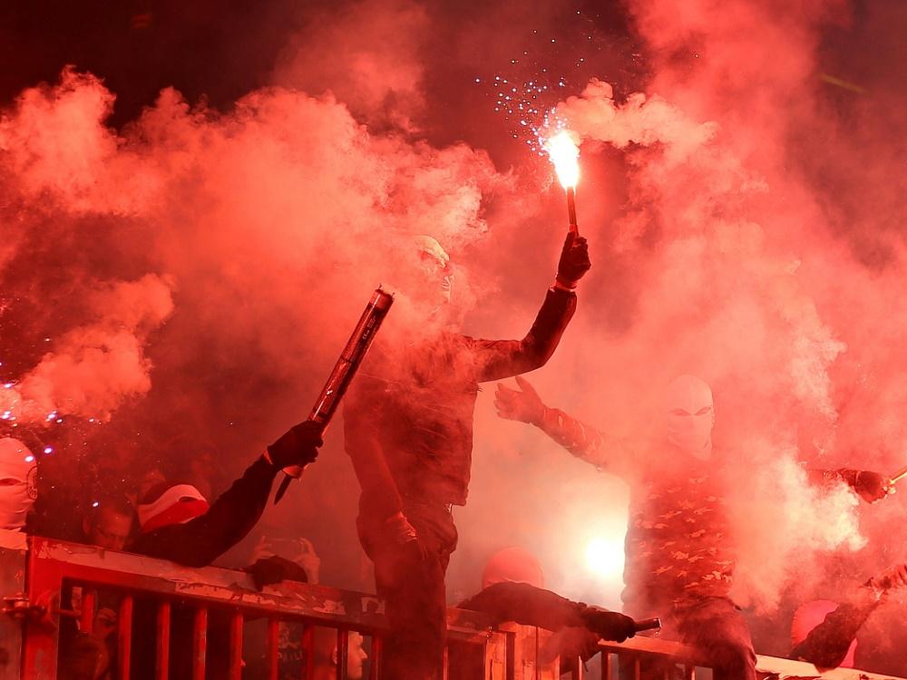 Geldstrafe für Bielefeld nach Pyroshow