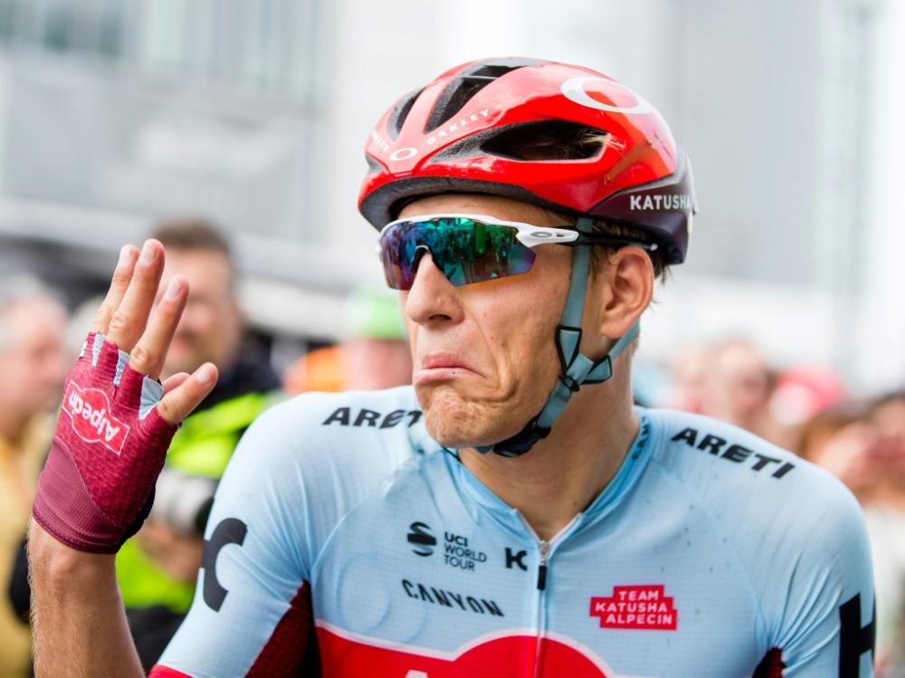 Kittel belegte bei der zweiten Etappe den achten Rang